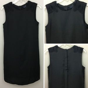 Armani Jeans Black Silky Shift Dress